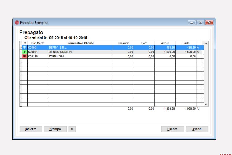 sistema  spedizioni pagamento anticipato Eurosoftware