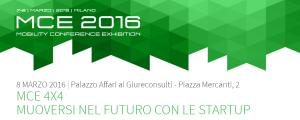 MCE 4X4 2016 Milano Startup