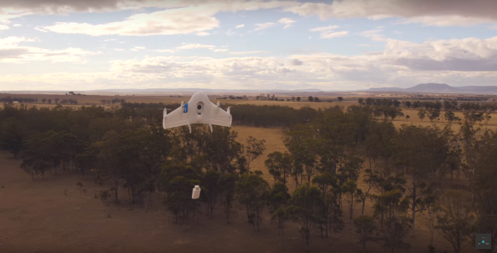 Project Wing Google consegna pacchi con droni