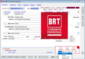 Autoproduzione lettere di vettura BRT